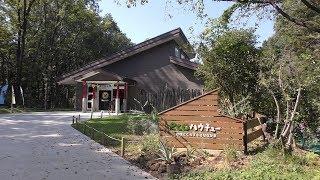 「echoハウチュー」内観 (埼玉県こども動物自然公園) 2019年10月2日