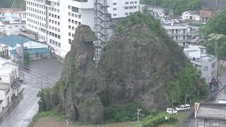 ゴジラ岩 (北海道斜里町) 2019年6月30日