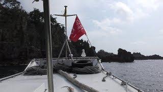 透視船 (尖閣湾揚島遊園) 2019年4月7日