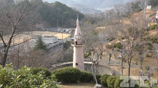 尾道市 千光寺公園 猿山 (2019年2月25日)
