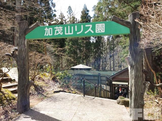加茂山公園 リス園